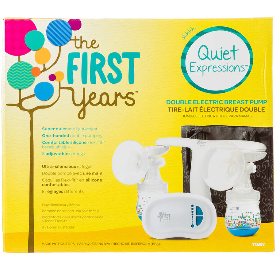 the first years quiet expressions double breast pump walmart com