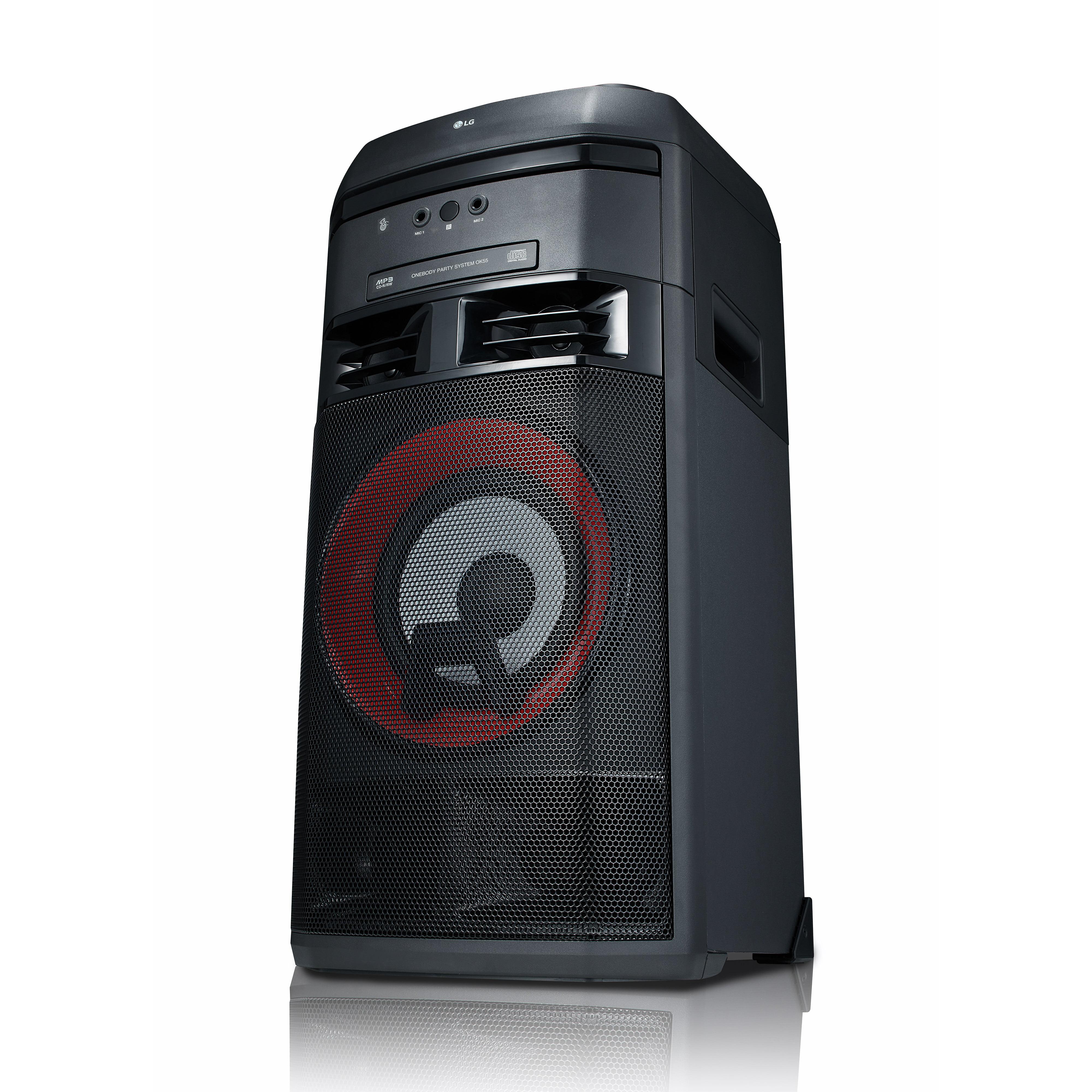 LG OK55 LG XBOOM 500W Entertainment System w// Karaoke /& DJ Effects