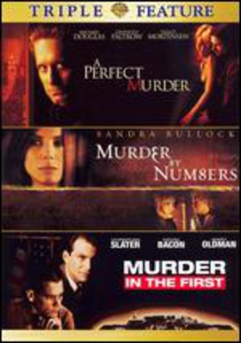 A Perfect Murder   Murder by Numbers   Murder in the First by WARNER HOME ENTERTAINMENT
