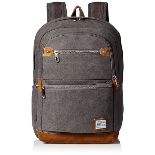 Travelon Anti-Theft Heritage Backpack-Pewter Anti-Theft Heritage Backpack