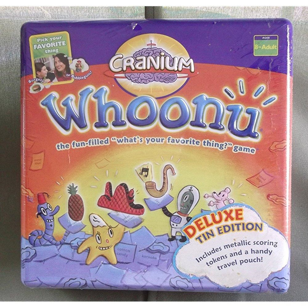 Cranium Whoonu Deluxe Tin Edition by