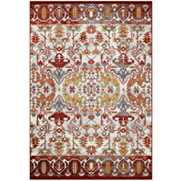 Better Homes and Gardens Hamilton Garden Cut Pile Print Nylon Multi Area Rug or Runner, Multiple Sizes