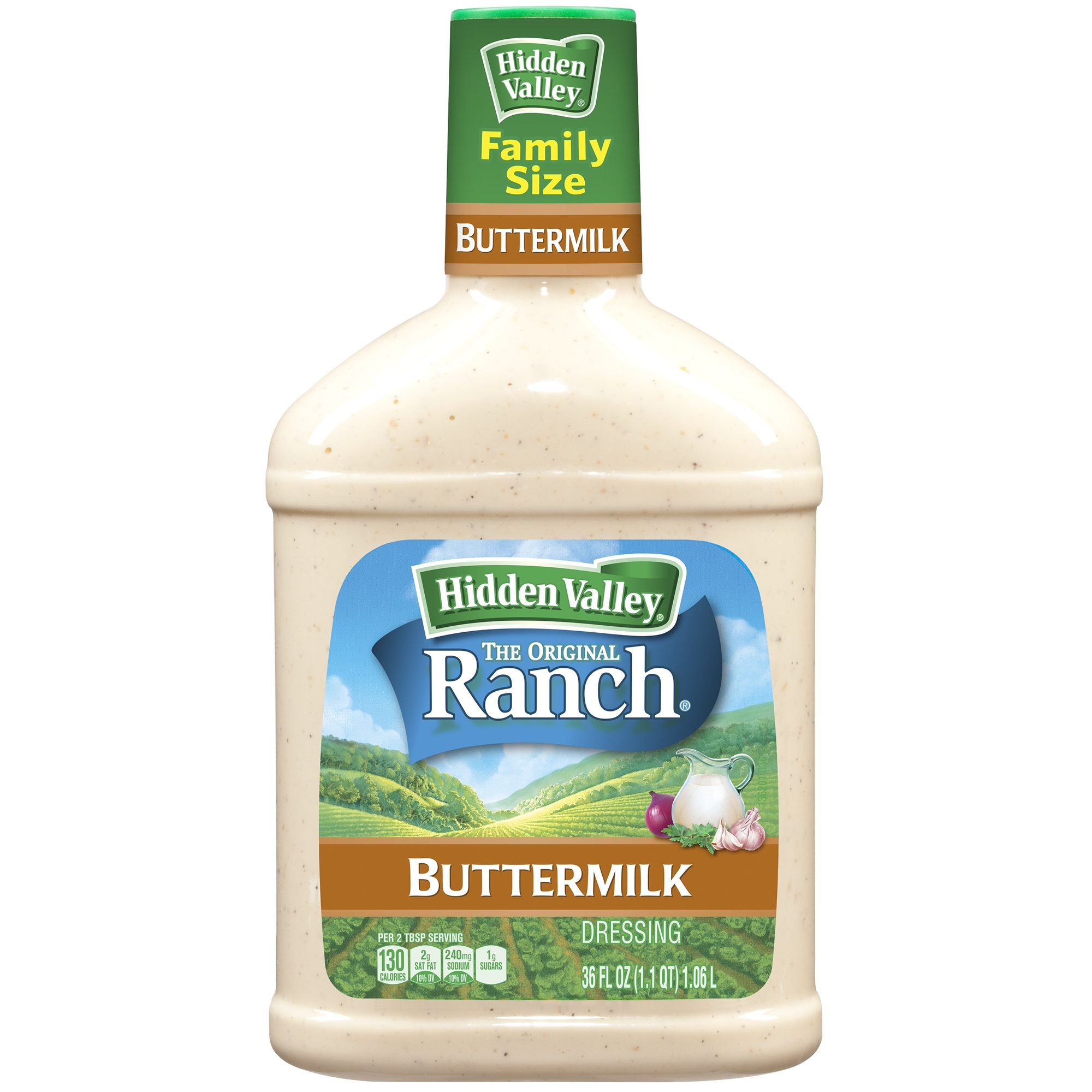 Hidden Valley Original Ranch Dressing, Buttermilk, 36 Fluid Ounces