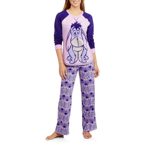 Assorted Women's and Women's Plus Microfleece Pajama 2 Piece Sleepwear Set