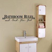 Staron Removable DIY Wall Sticker Mural Home Decal Decor For Bathroom Adornment