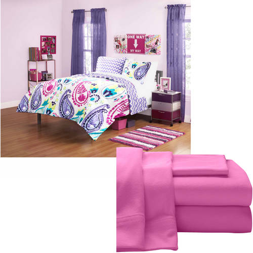 Your Zone Bedding Bundle- Choose Your Comforter and Sheet Set