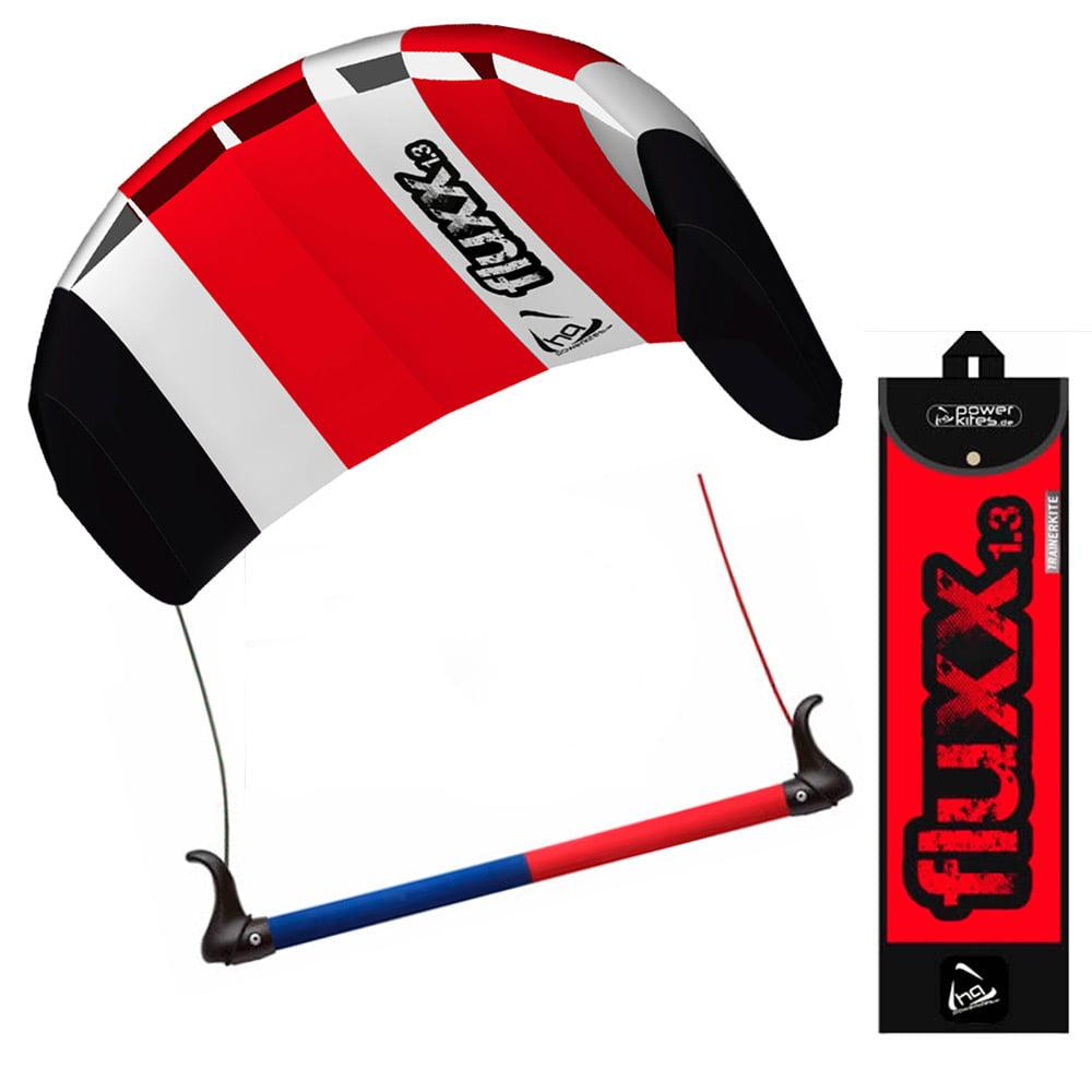 HQ Fluxx 1.3 Trainer Kite Kiteboarding Foil Power Surf Kitesurf Beach Beginner ! by SJ KLDVIPRGVH