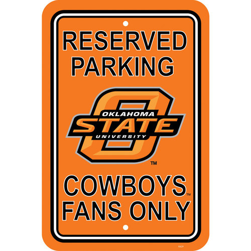 NCAA Oklahoma State Cowboys Parking Sign