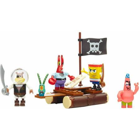 Mega Bloks SpongeBob SquarePants Pirate Figure Pack (Spongebob Gorilla)