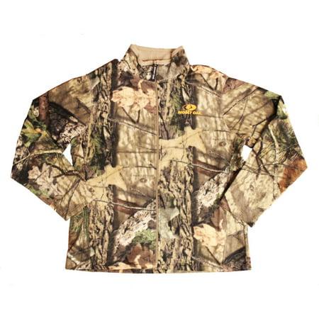 Men's Fleece Camo Full Zip Jacket