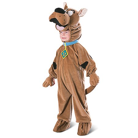 Boys' and Toddler Deluxe Scooby Doo Costume for $<!---->