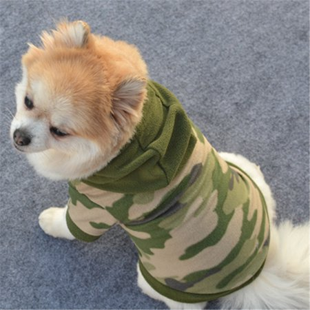 Dog Pet Clothes Hoodie Warm Sweater Puppy Coat Apparel XL