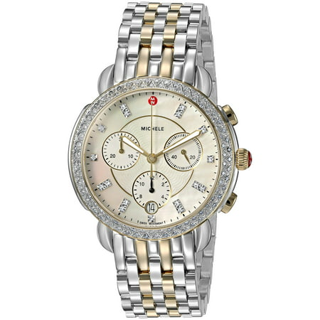 Michele Sidney Chronograph Diamond Ladies Watch MWW30A000005