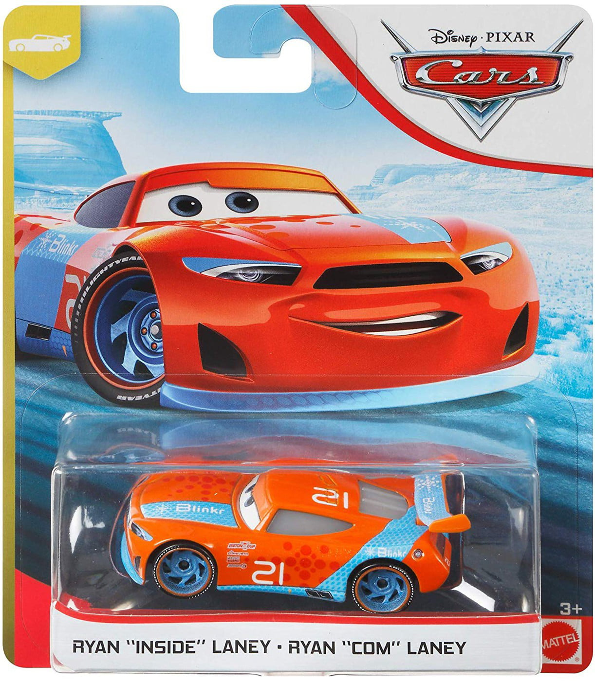 2x Disney Pixar Cars ▪ CHASE RACELOTT /& RYAN Inside LANEY ▪  Next-Gen Piston Cup