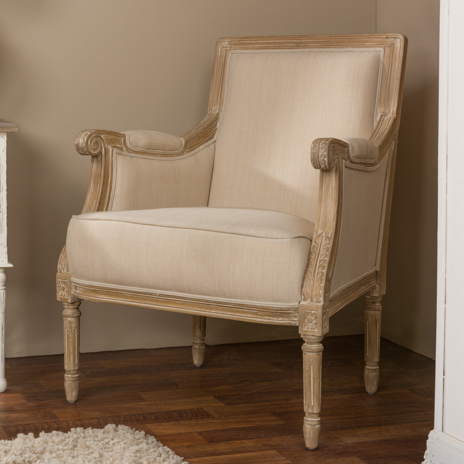 Baxton Studio Chavanon French Accent Chair