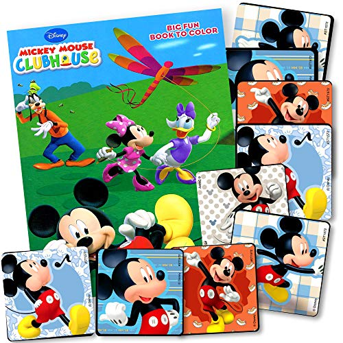 Mickey Mouse Coloring Book Set With Mickey Mouse Stickers Mickey Set Walmart Canada