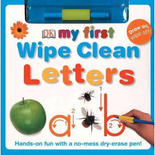 My First Wipe Clean: Letters