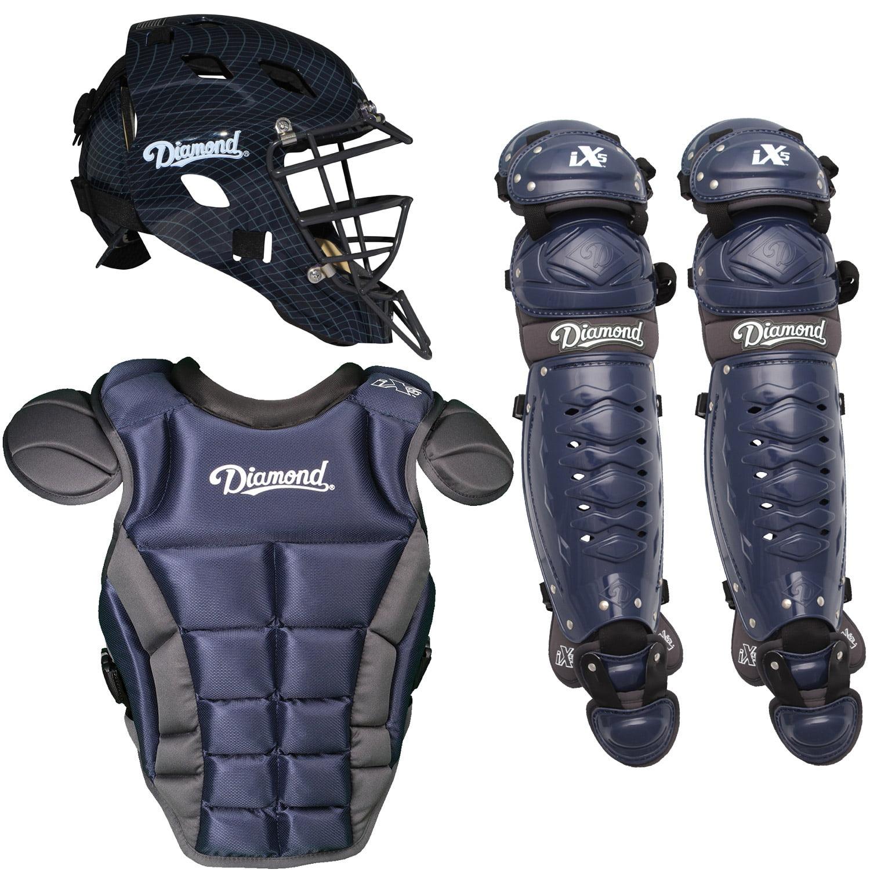 Diamond iX5 Pro Youth Baseball Catcher's Package