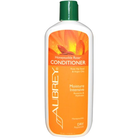 Aubrey Organics  Honeysuckle Rose Conditioner  Restores   Hydrates  Dry Hair  11 fl oz  325 (Best Hydrating Conditioner For Dry Hair)