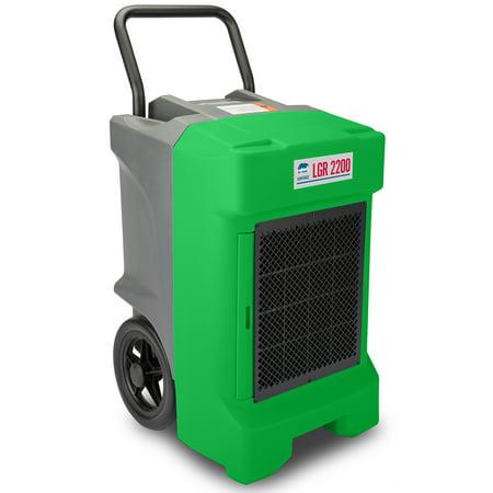 B Air Vg 2200 Lgr Green Etl 400 Cfm 130 Ppd Aham Vantage Commercial Dehumidifier  Green