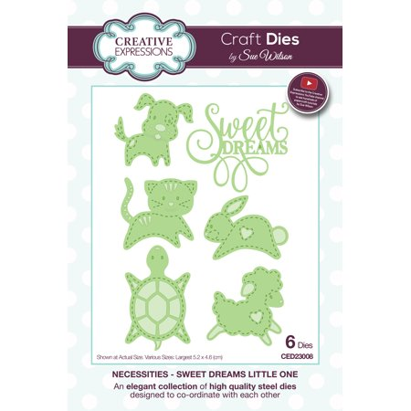 Creative Expressions Craft Dies By Sue Wilson-Necessities-Sweet Dreams Little One - image 1 of 1