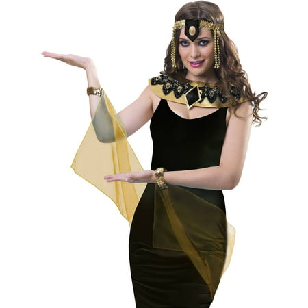 Black Cleopatra Accessory Set Halloween Costume Accessory ...