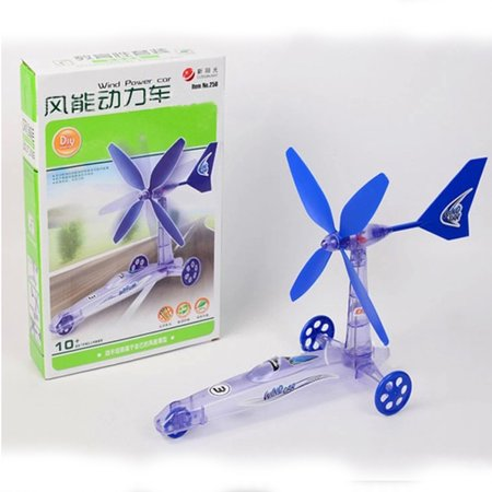 Mosunx Build Your Own Wind Powered Car Older Boys Educational Kit Toys
