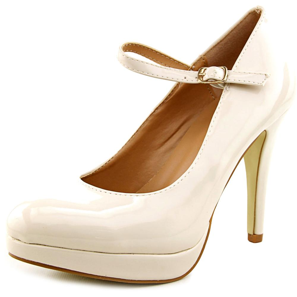 Journee Collection Selfie   Round Toe Synthetic  Mary Janes
