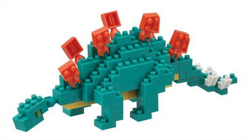 Stegosaurus Mini Building Set by Nanoblock (NBC113) by nanoblock