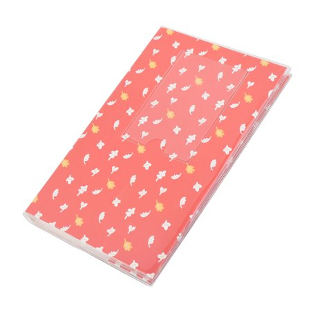 Graduation Birthday Plastic Leaf Pattern Scrapbook Photo Picture Album Red - Graduation Album