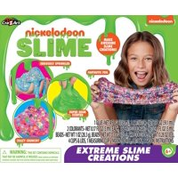 Nickelodeon Extreme Slime Creations Kit with mix-ins & scents
