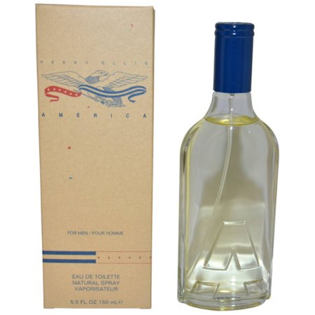 America By Perry Ellis For Men Edt Spray  5 Oz