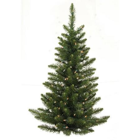(Vickerman 3' Camdon Fir Half Artificial Christmas Wall Tree, Unlit)