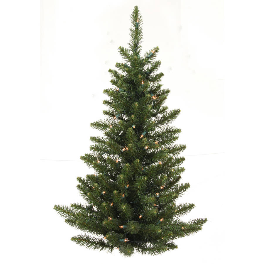 Vickerman 3' Camdon Fir Half Artificial Christmas Wall Tree, Unlit