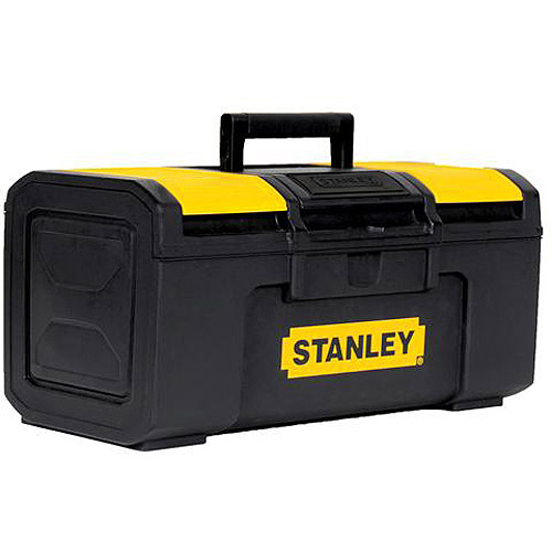 "Stanley 1-Touch Plastic Latch Tool Box, 16"", STST16410"