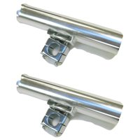 KUFA SPORTS All Metal Rod Holders with Stainless Steel Tube (2-pack), RH60x2