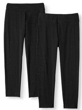 23aab76980fe5 Product Image Women's Capri Leggings - 2 Pack