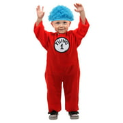 thing 1 2 infant costume with hat - Thing 1 Thing 2 Halloween Costume