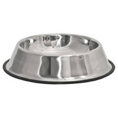 Aleko Pssb03l Large Stainless Steel Pet Dog Cat Puppy Food Bowl