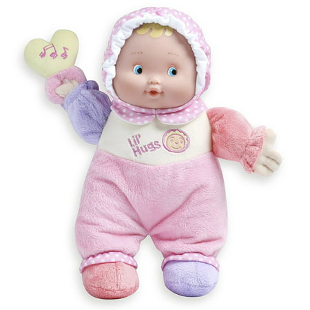 """JC Toys Lil' Hugs 12"""" Soft Body - Your First Baby Doll – Designed by Berenguer – Ages 0+"""