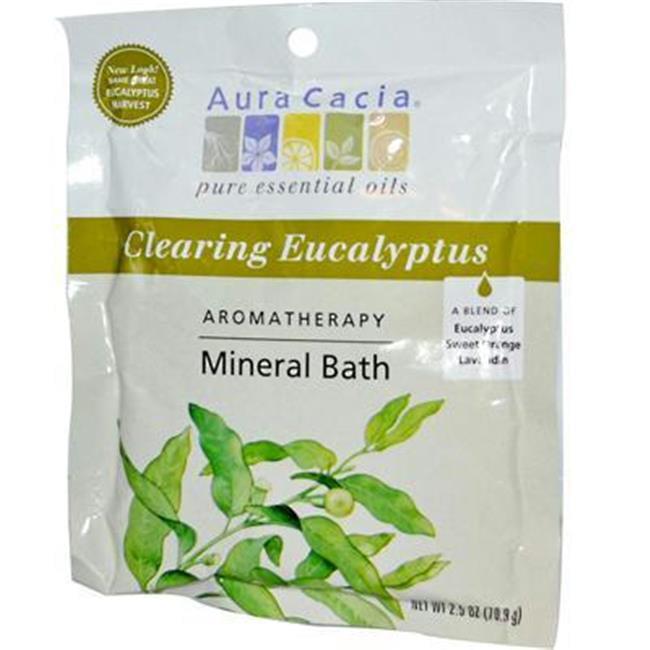 AURA(tm) Cacia AY40904 AURA(tm) Cacia Eucalyptus Harvest Mineral Bath Salts -6x2.5 Oz