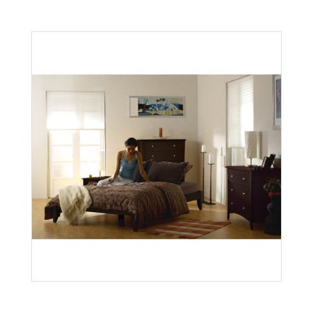 Lifestyle Solutions Soho 4 Piece Platform Bedroom Set