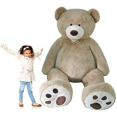 Nspire Toys Oversize Giant Teddy Bear Jumbo Plush Gigantic Stuffed Animal about 8ft](Cheap Teddy Bears)