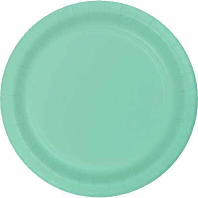 Club Pack of 240 Fresh Mint Green Premium Durable Paper Banquet Platter 10