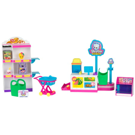 Shopkins Season 10 Mini Packs, Pick 'N Pack Small Mart Playset