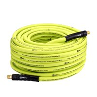 """WYNNsky Hybrid Air Hose 3/8 in.X 100ft., 1/4""""MNPT Fittings, 300 PSI Max Working Pressure,Non-Kinking, Lightweight, Flexible In Extreme Cold Weather, Excellent UV, Oil and Abrasion Resistant"""