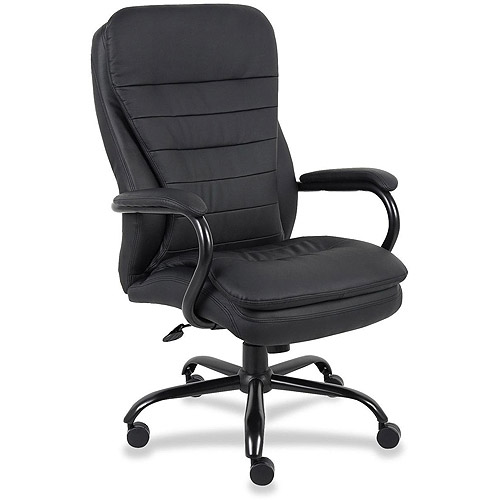 Lorell 62624 Executive Swivel Chair, Black