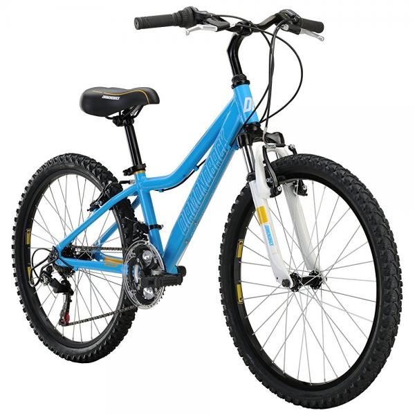Diamondback Bicycles Lustre 24 Kid's Mountain Bike, 24 Wheels, Blue by