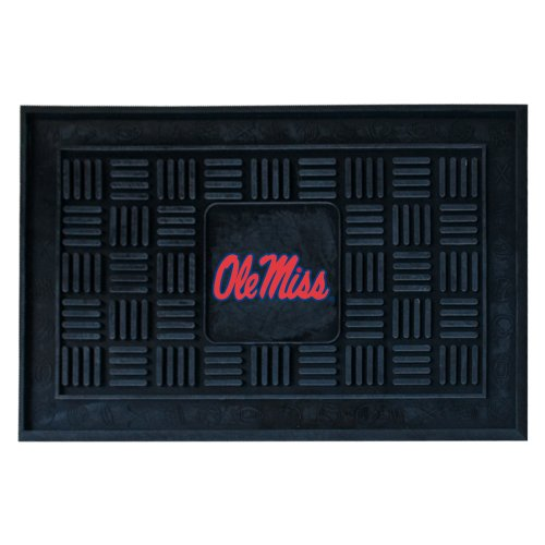 FANMATS 11781 University of Mississippi (Ole Miss) Heavy Duty Front Outdoor Mat