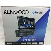 "New Kenwood KVT-7012BT 6.95"" Bluetooth In-Dash Flip-out DVD Car Stereo KVT7012BT"